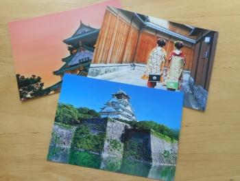 富士山等のポストカードを購入4