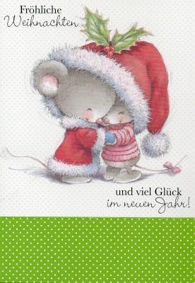 スイスから☆クリスマスカード2015-1