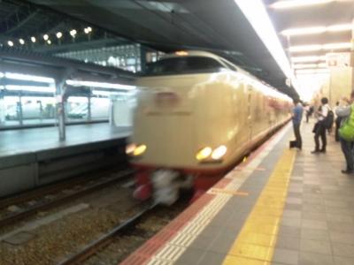 150926大阪駅0時34分発サンライズ出雲・瀬戸