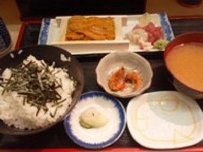 071009鈴木水産ウニ定食1000円