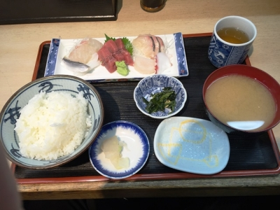 150928鈴木水産お刺身定食1000円