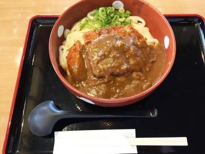151006得得橿原店ジャワカツカレーうどん880円2玉無料