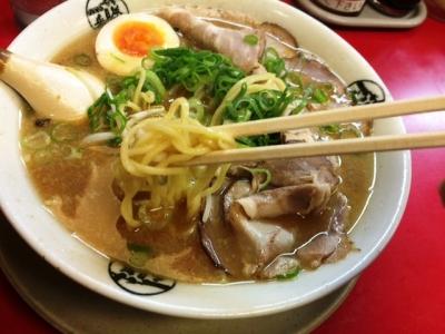 151013藤一番金山店味噌ラーメン740円の麺