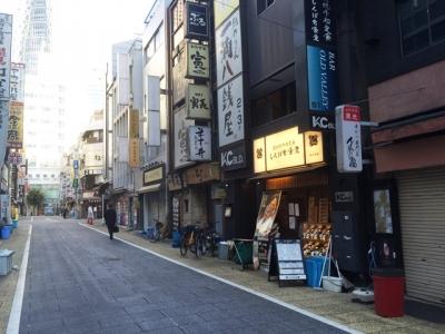 151026炭火焼干物定食しんぱち食堂新宿店外観