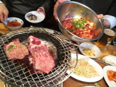 151113岩崎塾本店焼肉