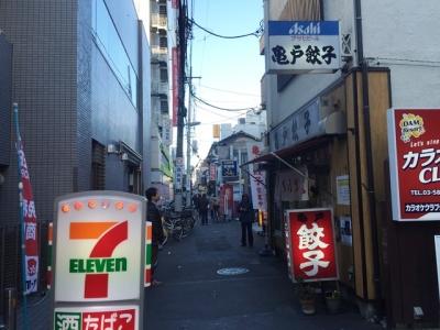 151229亀戸餃子本店外観