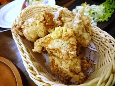 160102ニューミュンヘン本店阿波乙女鶏の唐揚げ920円