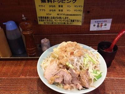 160121立川マシマシ中ラーメン750円は麺300g