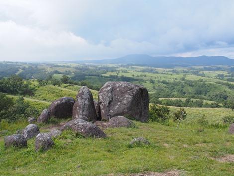 押戸岩の丘