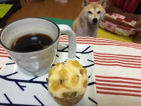 お芋の蒸しパン