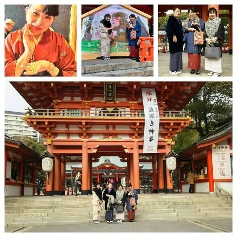 平成28年1月27日生田神社
