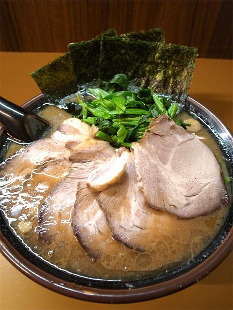 150825麺匠かづ家-ラーメン中