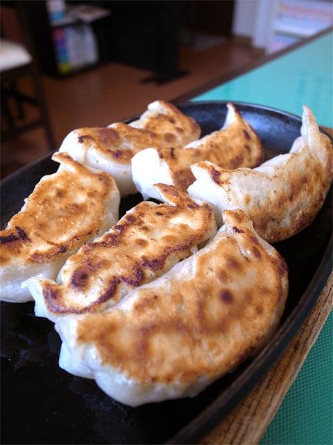150830獅子林-焼き餃子