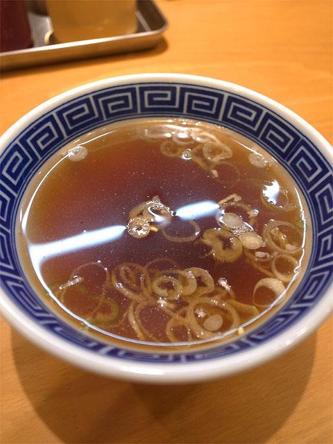 150918まぜそば 中村亭-台湾まぜそば・スープ