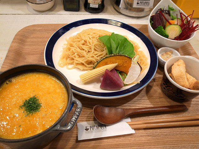151121POTAPOTA-鶏ベジポタつけ麺 塩