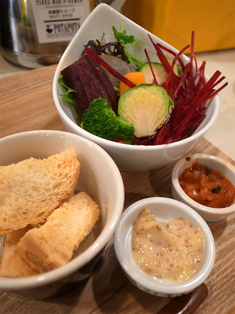 151121POTAPOTA-鶏ベジポタつけ麺 塩・野菜