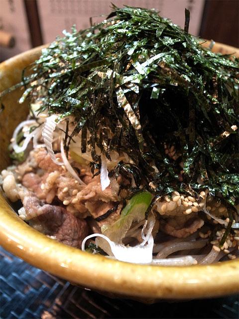 150606池袋壬生-肉そば中盛・麺