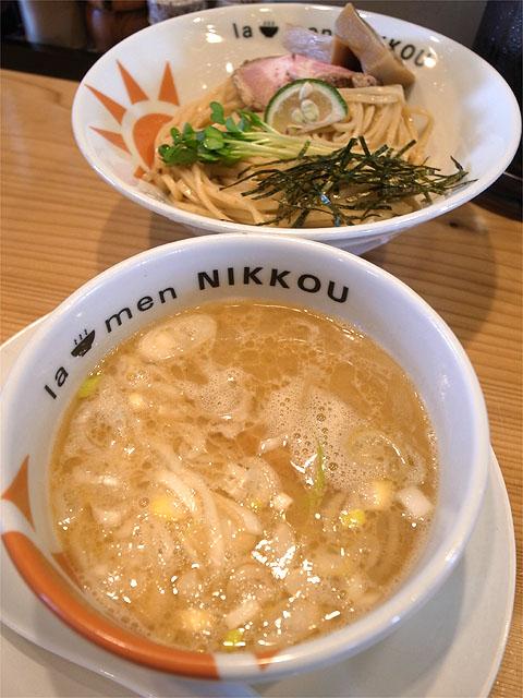 150621NIKKOU-つけ麺 柚子白湯