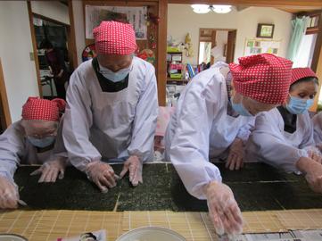 長巻き寿司4