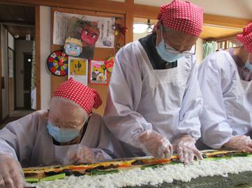 長巻き寿司93