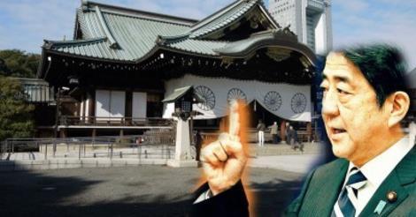 安倍総理 in 靖国神社 (2)