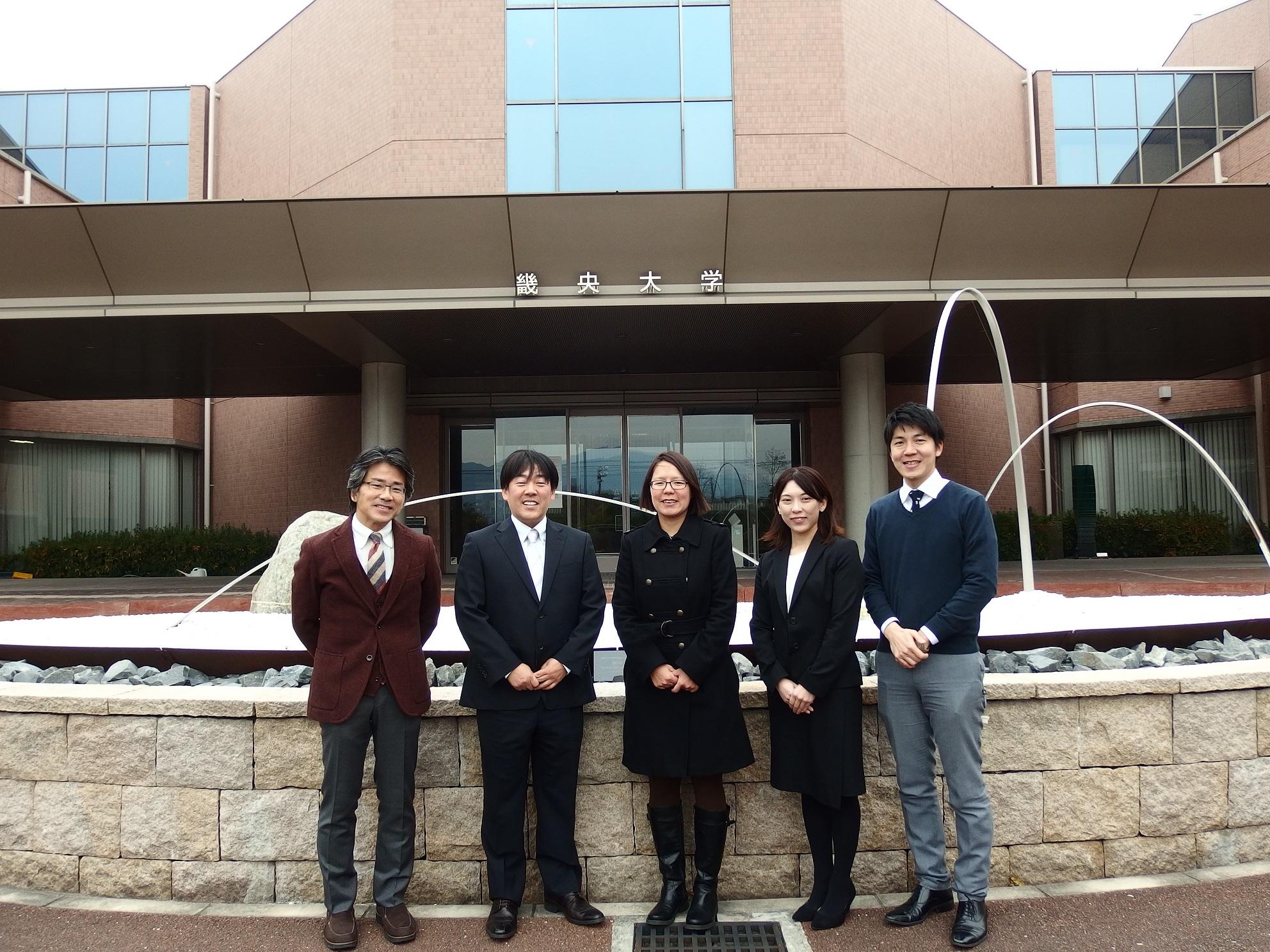 リハビリテーション・理学療法・運動の科学 中国医薬大学のYu-jung先生が来学されました!!