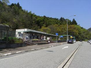 揖保川パーキングエリア(下り)