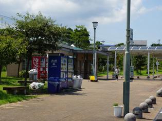 大分松岡パーキングエリア(上り)