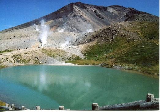 旭岳と姿見池