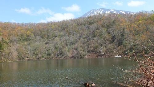 半月湖ト羊蹄