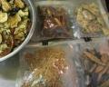 去年の乾燥野菜
