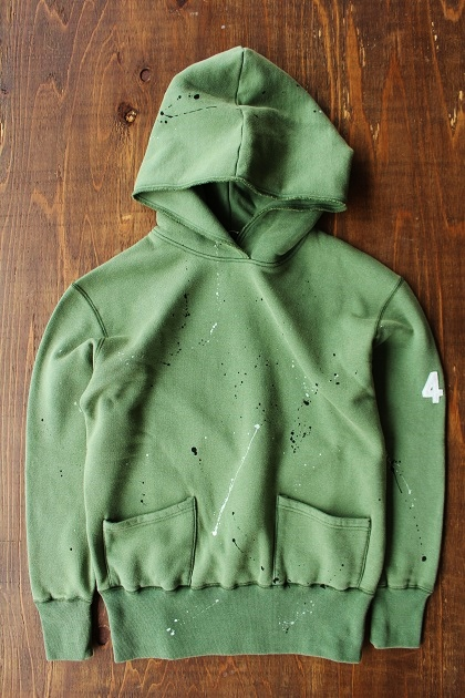 Delinquentbros TYPE 40s DAMEGE HOODIE (3)