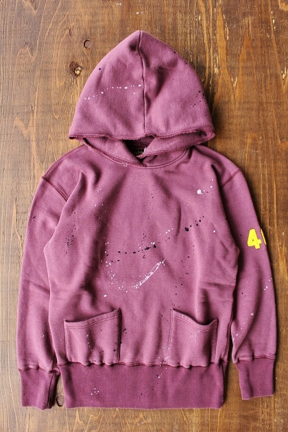 Delinquentbros TYPE 40s DAMEGE HOODIE (18)