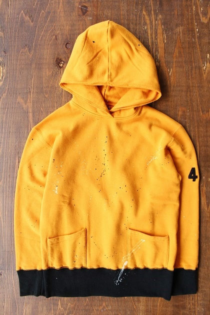 Delinquentbros TYPE 40s DAMEGE HOODIE (11)