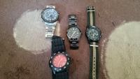 腕時計たち