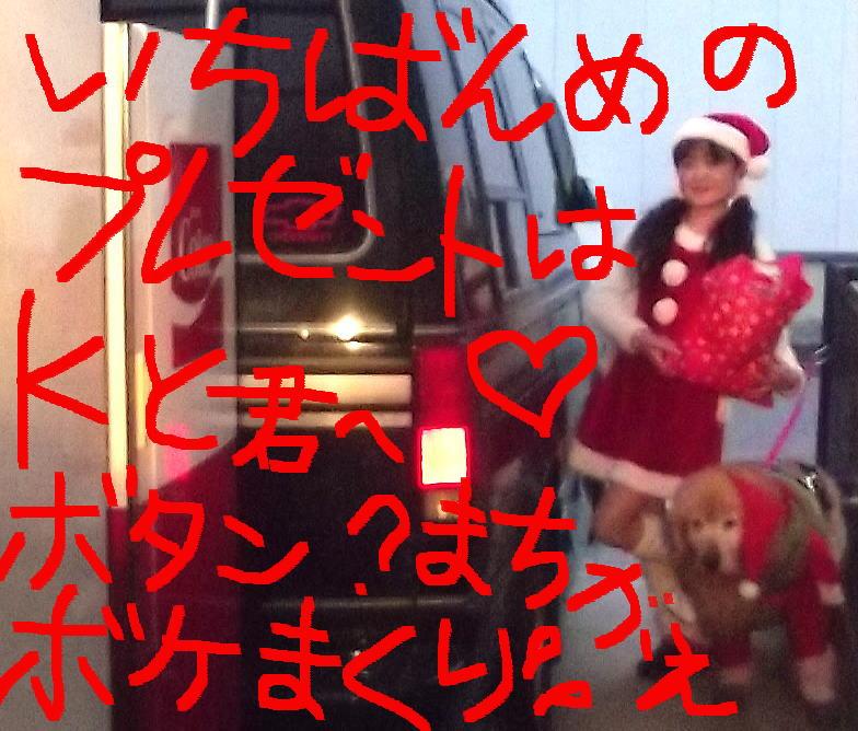 ラヴィン&ひろみサンタ☆