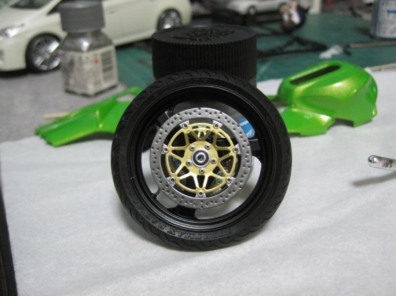 タミヤ ニンジャ ZX‐12R