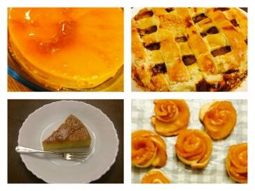 20160208杏菜ケーキ