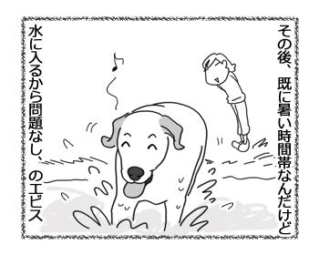 羊の国のラブラドール絵日記シニア!!「夏に完敗」3