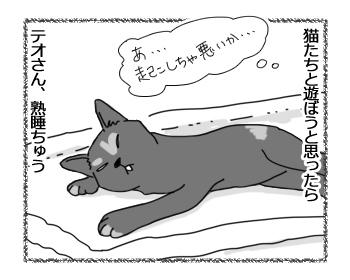 羊の国のラブラドール絵日記シニア!!「テオさんの寝正月」1