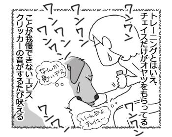 羊の国のラブラドール絵日記シニア!!「クリッカー・トレーニング」2
