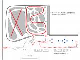 ジムキタ冬遊び会場図