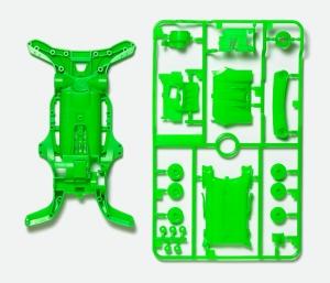 AR蛍光カラーシャーシセット (グリーン)