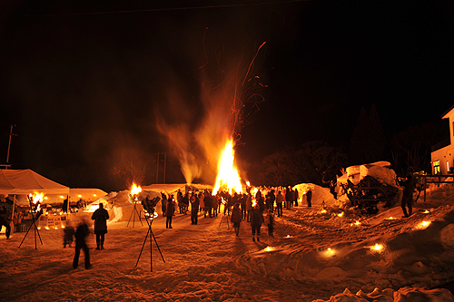 湯野上温泉火祭り プレイバック0060