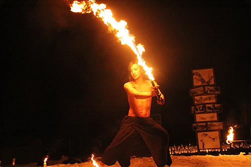 湯野上温泉火祭り プレイバック0047
