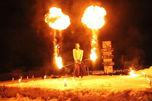 湯野上温泉火祭り プレイバック0043