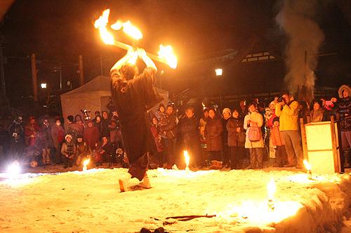湯野上温泉火祭り プレイバック0039