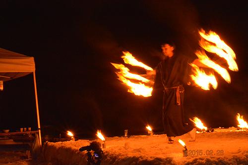 湯野上温泉火祭り プレイバック0036