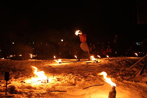 湯野上温泉火祭り プレイバック0021