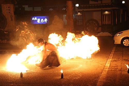 湯野上温泉火祭り プレイバック0014